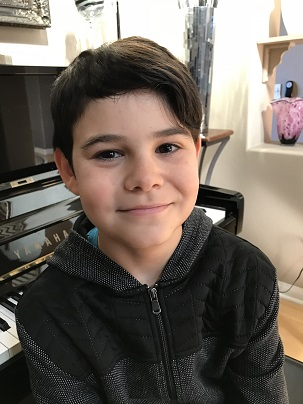 Kamran 11 years old (November 6 - December 5, 2017)