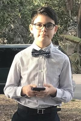 Kamran 11+11 months (October 6 - November 5, 2018)