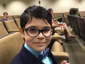 Kamran 11+6 months (May 6 - June 5, 2018)